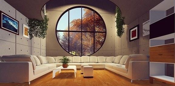 contemp living rm furniture set