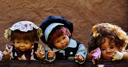triplet dolls