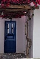 door of house